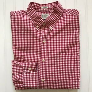 J. CREW Long Sleeve Button Down Shirt!   M